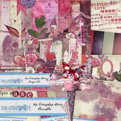 My Everyday Love { Bundle } by The Urban Fairy, available at www.digitalscrapbookingstudio.com #theurbanfairy #theStudio