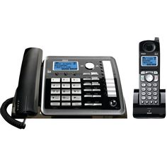 RCA 25255RE2 2-Line Corded-Cordless Expandable Phone with Caller ID & Answerer