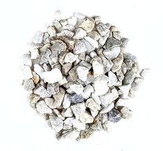 Crushed Rocks | Milky White - 5 lbs.