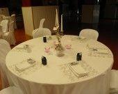 Sets de table carré vendu par lot de 80 : Décoration de table par l-atelier-deco-31 sur ALittleMercerie