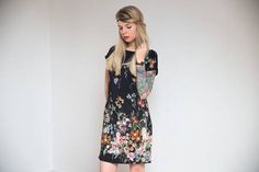 Last Minute Kleid Schnittmuster & Anleitung inclusive A0 Plottdatei bei Makerist