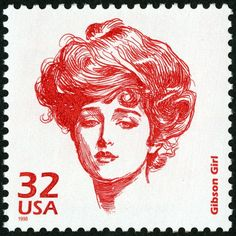 Charles Dana Gibson, creator of the idealized Gibson Girls, lived, worked and died in New York City.