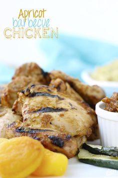 Apricot Barbecue Chicken // thehealthymaven.com