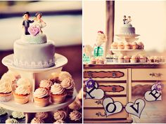 Cupcake Tower / Tamiz Photography / Maui Real Wedding / via StyleUnveiled.com