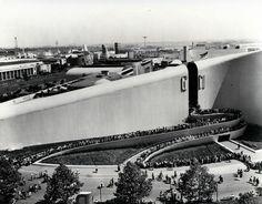 General Motors Building, New York World's Fair, 1939 by Albert Kahn and Norman Bel Geddes