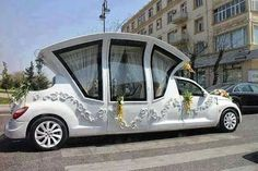 This is an awesome car for like a wedding!!! But yet it is kinda odd too lol:)
