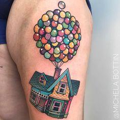 Image result for pixar up tattoo