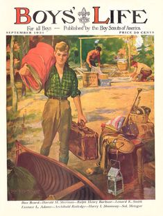 1931 Boys' Life Magazine  ... The official magazine of the Boy Scouts of America.