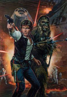 Han Solo | Starwarsfanart.com | Star Wars | Star Wars Art #starwarsfanart #starwars #starwarsart #starwarsartwork #artwork #art #hansolo #solo #chewbacca #millenniumfalcon