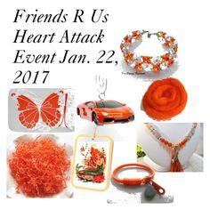 """Orange Crush"" by omearascottagecharm ❤ liked on Polyvore featuring art and etsyfru"
