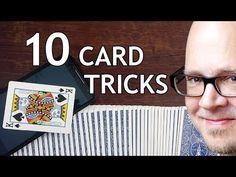 Magic Tricks For Beginners, Magic Tricks Tutorial, Easy Card Tricks, Magic Card Tricks, Card Tricks Revealed, Street Magic Tricks, Coin Tricks, Penn And Teller, Learn Magic