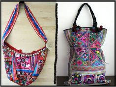 Gorgeous Indian embroidered bags.