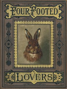 bumble button: Darling Victorian Rabbits and Bunnies From Children's Books and Antique Postcards