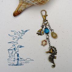 Cheval de Mer ✿ Bijou de sac : Autres bijoux par asta-en-bretagne
