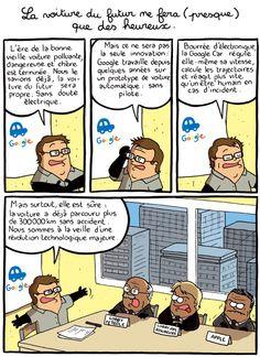 Cómo reaccionaría una parte del poder ante un coche eléctrico de Google.