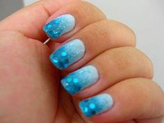 blue & glitter <3