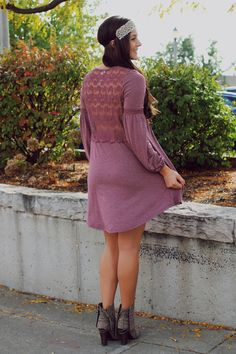 Lace Crochet Back Bell Sleeve Dress – UOIOnline.com: Women's Clothing Boutique