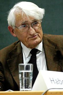 On June German sociologist and philosopher Jürgen Habermas was born. Widely recognized as one of the world's leading intellectuals, Habermas is perhaps best known for his theories on comm Sistema Global, Oliver Sacks, Contexto Social, Critical Theory, Religion, New Times, Karl Marx, Moral, Socialism