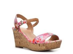 Mix No. 6 Zessi Floral Wedge Sandal | DSW