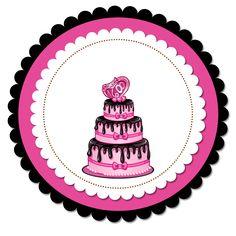 Layouts e templates para blogs e lojas virtuais Cake Logo Design, Food Logo Design, Logo Food, Cupcake Logo, Bakery Business Cards, Chalkboard Designs, Cake Craft, Flower Background Wallpaper, Pink Wallpaper Iphone
