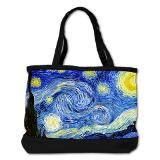 Van Gogh - Starry Night Shoulder Bag for $88.00
