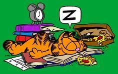 Tirinha Garfield