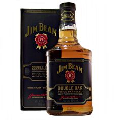 Jim Beam Double Oak Twice Barreled Kentucky Straight Bourbon Whiskey available to buy online at specialist whisky shop whiskys.co.uk Stamford Bridge York