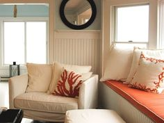 Window Seats -Design Ideas for Sea Dreamers