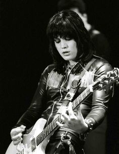 Joan Jett, if only I could play keyboard half as well as she plays guitar
