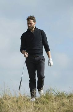 Jamie Dornan at Dunhill Links Golf Tournament 6th Oct 2016