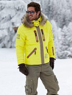 jan-dp jacket with fur