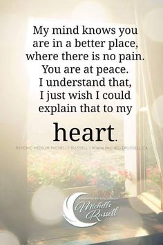 I wish my heart would understand