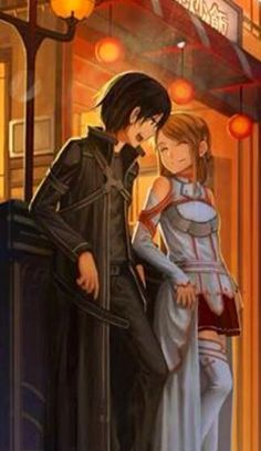Best anime ever! Sword Art online is amazing I just finished season 1 last night and just ughhhh I'm going to die xc and Kirito and Asuna is my new OTP cx