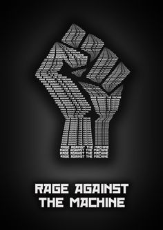 Rage Against The Machine ~ Minimalistic Music Posters by Sahil Thappa, via Behance Rock Posters, Band Posters, Concert Posters, Music Posters, Rage Against The Machine, Music Artwork, My Favorite Music, Rock Music, Cool Bands