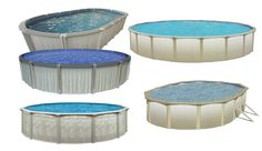Doughboy pool in ground at home outdoors pinterest for Above ground pool buying guide