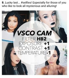 VSCO - Best Filters For Instagram Success! No. 8