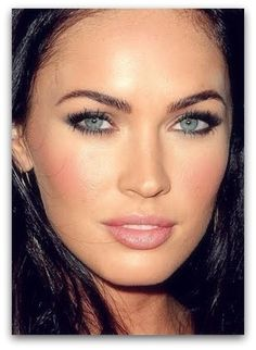 Megan Fox has nice natural looking eyebrows...
