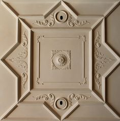 Library ceiling detail.  #plaster