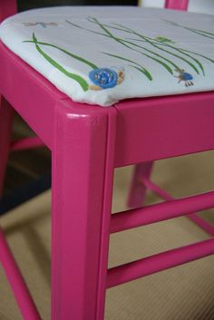 Hometalk :: Chair Redo With Re Upholstery, No Sewing Needed!