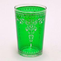 #Glas #Teeglas grün, passt gut zu frischem #Pfefferminztee :-)