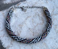 Collar Bead Crochet 1 de Las Cositas de Perica por DaWanda.com