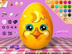Ostereier bemalen App Paint on 3D Easter Egg for Kids