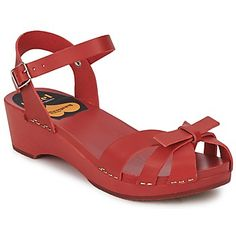 -35% off these red sandals from Swedish Hasbeens with free delivery on @spartoouk ! #sandals #shoes #sale #outlet #red