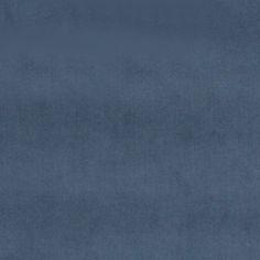 Møbelvelour støvet blå