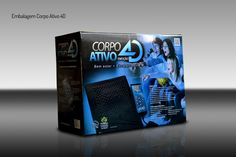 Embalagem Corpo Ativo 4D