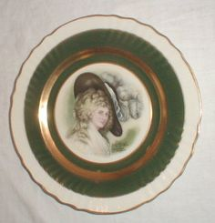 my painted Gainsborough plate