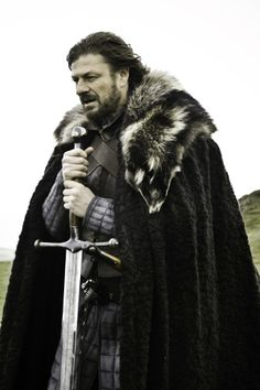 Sean Bean as Eddard Stark in Game of Thrones