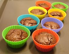 Low Carb High Fat diet: Low-carb chocolate cupcakes