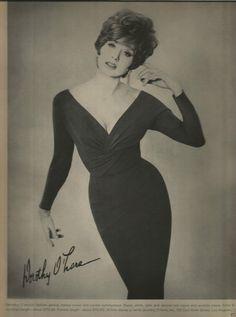 Model: Suzy Parker Circa: 1964. Dorothy O'hara. Magazine Fashion Editorial More fashion images atdevodotcom. | eBay!