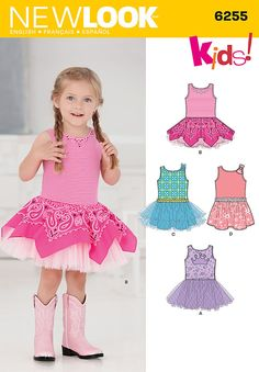 """toddlers' dress with knit bodice can be made with tulle overlay. for more fun   add a layer of bandanas over the tulle. finish this dress with some sparkle using <a   href=""""http://www.eksuccessbrands.com/licensedbrands/productlist.htm?tid=1815&sbid=1511"""" class=""""more"""">create your style   with swarvoski elements™</a>.<p></p><img src=""""skins/skin_1/images/icon-printer.gif""""   alt=""""printable pattern"""" /><a href=""""#"""" onclick=""""toggle_visibility('foo');"""">printable pattern terms of   sale</a..."""
